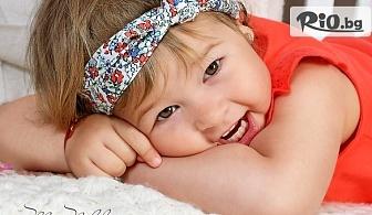 Професионална детска, семейна или индивидуална стандартна фотосесия в студио с декори и аксесоари, от Mimi Nikolova Photography