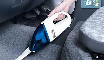 Професионална грижа за Вашия автомобил! Пране и подсушаване на седалки и под на лек автомобил с машини Karcher и почистващи препарати на Sonax, на адрес на клиента от професионално почистване КИМИ!