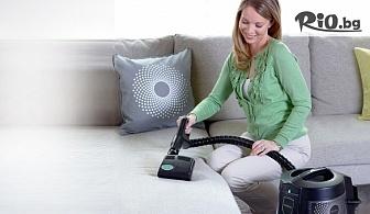 Професионално почистване на триместен или четириместен диван с почистваща система Rainbow, от TEOHAROV CLEAN