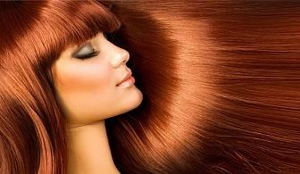 Професионално подстригване + терапия според нуждите на косата и оформяне със сешоар в Салони за красота Женско Царство!