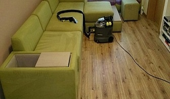 Професионално пране на мека мебел до 7 седящи места от Кими, София