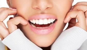 Профилактичен преглед и почистване на зъбна плака и зъбен камък с ултразвук, и премахване на оцветяване на зъбите само за 14.90 лв. от стоматологичен кабинет д-р Надя Станчева
