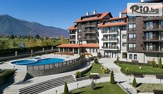 Пролетна почивка край Банско! 1, 2, 3, 5 или 7 нощувки със закуски и вечери + СПА и вътрешен отопляем басейн, от Хотел Балканско Бижу 4*