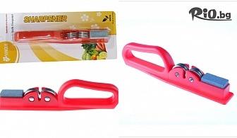 Ръчен уред точило Yongkai с брус за заточване на ножове и ножици, от Svito Shop