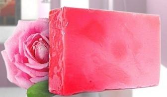 Ръчно изработен сапун с българска роза