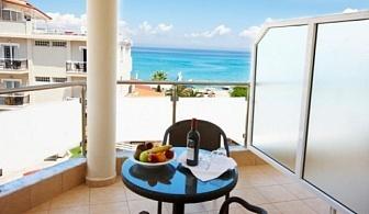 Ранни резервации за лятна почивка на Халкидики, Ханиоти: 3, 5 или 7 нощувки на база закуска и вечери в хотел Hanioti Grand 3*(+) за цени от 310 лв ЗА ДВАМА