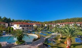 Ранни Резервации за лято 2017 на Халкидики, Касандра: 3, 5 или 7 нощувки за ДВАМА на база закуска и вечеря или база All Inclusive в хотел Chrousso Village 3*(+) от 359 лв