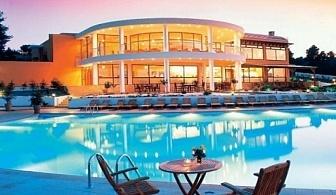 Ранни резервации за лято 2017 почивка на Халкидики, Касандра: 3, 5 или 7 нощувка за ДВАМА на база закуска и вечеря в хотел Alia Palace 5* от 332 лв