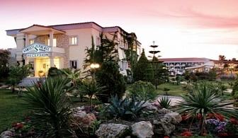 Ранни резервации за почивка на Касандра, Халкидики 2017: 3, 5 или 7 нощувки на база закуска и вечеря в хотел Tresor Sousouras (EX. Hanioti Palace) за цени от 248 лв ЗА ДВАМА