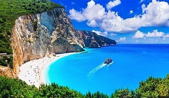 Ранни записвания за 5-дневна автобусна екскурзия до о-в Лефкада през Май! 3 нощувки със закуски в хотел 2/3* + посещение на плажът Агиос Йоанис с Далла Турс!