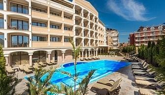 Ранни записвания за лятна почивка 2017 в Приморско: 3, 5 или 7 нощувки на база закуска в хотел Сиена Палас 4* от 186 лв. за ДВАМА
