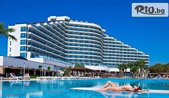 Ранни записвания за лято 2020г. в Дидим! 7 нощувки на база Ultra All Inclusive в Хотел Venosa Beach Resort 5* + собствена зона на плажа Venosa, от Мисис Травъл