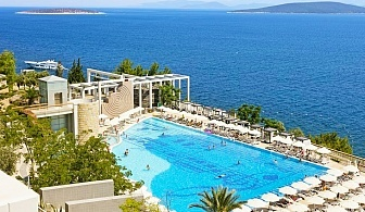Ранни записвания за лято 2020 край Бодрум, Турция! 5 нощувки на човек на база Ultra all Inclusive+ 3 басейна от хотел Duja*****. Дете до 12.99г. - БЕЗПЛАТНО