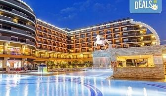 Ранни записвания за почивка в Анталия, Турция, през май! 7 нощувки на база Ultra all Inclusive в хотел хотел Senza The Inn Resort & Spa 5* Алания, възможност за транспорт