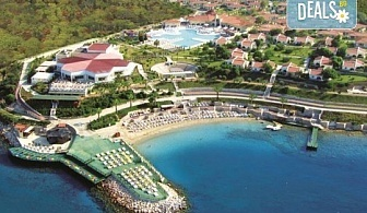 Ранни записвания за почивка 2019 в Дидим с Тансу Травел! 5 нощувки на база 24ч. All Inclusive в Hotel Palm Wings Beach Resort Didim 5*, възможност за транспорт