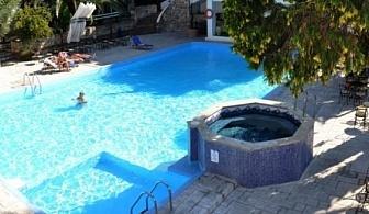 Ранни записвания за почивка на п-в Халкидики - Хотел  KRIOPIGI BEACH 4*! Нощувка със закуска и вечеря на човек на цени с намаление!