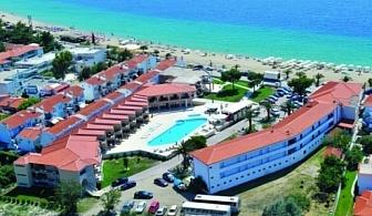 Ранни записвания за почивка 2017 на Халкидики: 3, 5 или 7 нощувки за ДВАМА на база закуски и вечери в хотел Toroni Blue Sea & SPA 3* от 212 лв