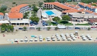 Ранни записвания за почивка 2017 на Халкидики: 3, 5 или 7 нощувки за ДВАМА на база закуски и вечери в хотел Toroni Blue Sea & SPA 3* за цени от 305 лв