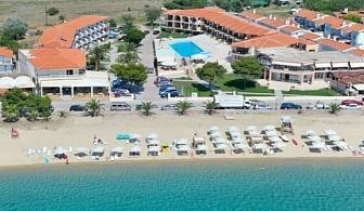Ранни записвания за почивка 2017 на Халкидики: 3, 5 или 7 нощувки за ДВАМА на база закуски и вечери в хотел Toroni Blue Sea & SPA 3* на цени от 212 лв