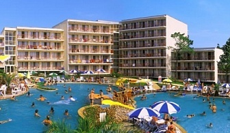 Ранни записвания за почивка в  хотел Вита Парк *** Албена ! Нощувка на база All inclusive + чадър и шезлонг на плажа и басейна+ безплатен вход за Аквапарк Аквамания!!!