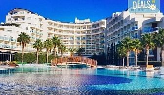 Ранни записвания за почивка в Кушадасъ, Турция! Sealight Resort Hotel 5*, 5 или 7 нощувки на база Ultra All Inclusive, възможност за транспорт