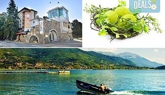 Ранни записвания за Великден в Охрид! 3 нощувки в центъра, транспорт, екскурзовод и посещение на Скопие и Струга