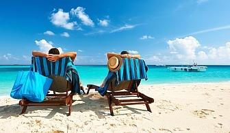 Ранно или късно лято в Китен!  Нощувка със закуска, обяд и вечеря + басейн в Хотел Грийн Палас, Китен на 200м., от плаж Атлиман!