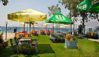 Ранно лято на брега на морето в хотел Angelos Garden,  Халкидики, Гърция. 2 или 5 нощувки със закуски и вечери