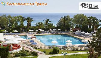 Ранно записване за море 2019г. в Халкидики! 3 нощувки със закуски и вечери в Bomo Pallini Beach Hotel 4* + басейн, шезлонги и чадъри, от Космополитън Травъл