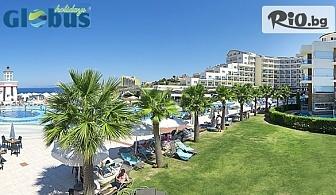 Ранно записване на море 2019 в Кушадасъ! 5 или 7 нощувки на база ULTRA All Inclusive в Sea Light Resort Hotel 5*, със собствен транспорт, от Глобус Холидейс
