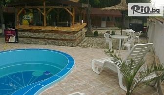 Ранно записване за почивка през ТОП сезон! Наем на цяло бунгало за до 6 човека + басейн във Ваканционно селище Кокиче 2 - ММЦ Приморско