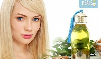 Разкош за Вашата коса! Подстригване, активна терапия: маска, масло и шампоан с арган и прическа в WAVE Studio - НДК