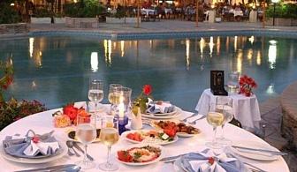 Различна почивка в хотел Chrousso Village - Касандра. За една нощувка със закуска, вечеря,   чадър и шезлонг на басейна и анимация / 01.05.2017 - 03.06.2017