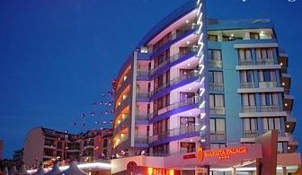 Релакс в Несебър до края на Март! Нощувка със закуска + джакузи и парна баня в хотел Мариета палас****