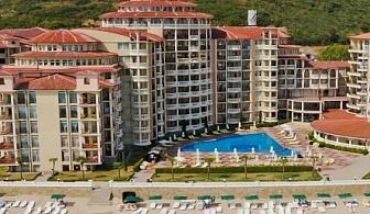 Релакс на първа линия в Елените в хотел Андалусия****Елените! Нощувка на база All inclusive + чадър и шезлонг  на плажа + безплатен вход за аквапарк Атлантида!!!
