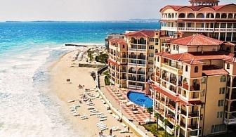 Релакс на първа линия в Елените - хотел Атриум Бийч****! Нощувка  на база All inclusive + чадър и шезлонг  на плажа + безплатен вход за аквапарк Атлантида!!!