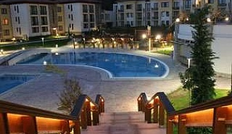 Релакс в Сандански през седмицата, нощувка със закуска и вечеря за двама с 2 масажа в Парк хотел Пирин