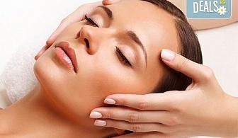 Релаксираща СПА терапия за лице с шоколад и мануален масаж при естетик в луксозния СПА център Senses Massage & Recreation!