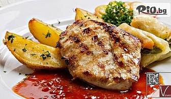 """Ресторант """"Варна"""" ти предлага вкусно двустепенно меню + музика на живо - за 6.77лв"""