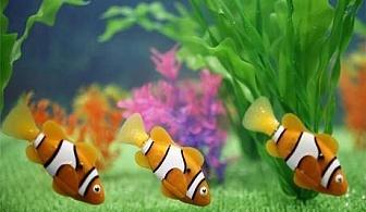 Рибка робот - забавление от ново поколение! Сега само за 5.90 лв. от онлайн магазин от Grabko.bg