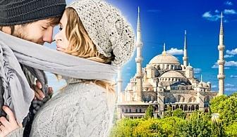 Романтичен Свети Валентин в Истанбул, Турция! 2 нощувки със закуски в хотел 3* или 4*, транспорт и посещение на Одрин!