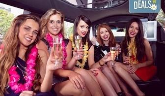 Рожден ден в период на криза! Единственото място за парти: лимузина с личен шофьор, бутилка вино и луксозни чаши от San Diego Limousines