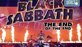 Само в Кино Арена! Прожекция на концерта The End of The End - финалът на последното турне на Black Sabbath, на 30.09. от 20ч., в София!