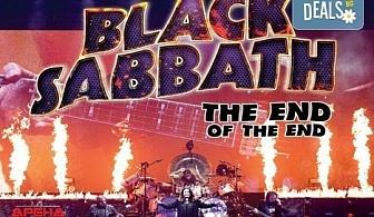 Само в Кино Арена! Прожекция на концерта The End of The End - финалът на последното турне на Black Sabbath, на 30.09. от 20ч, в страната!