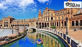 Самолетна екскурзия до Мадрид, Толедо и Андалусия! 6 нощувки със закуски в хотели 3* + туристическа програма, от Bulgaria Travel