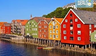 Самолетна екскурзия до магнетична Скандинавия, септември! 6 нощувки със закуски в Стокхолм, Осло, Копенхаген и още, самолетен билет, трансфери и богата програма