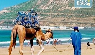 Самолетна екскурзия до Мароко през октомври с Караджъ Турс! Билет, летищни такси, трансфери, 7 нощувки със закуски и вечери в хотели 4*, водач и програма