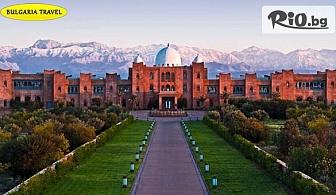 Самолетна екскурзия до сърцето на Мароко - Маракеш, Имперския град! 6 нощувки, закуски и вечери, двупосочен билет, багаж, трансфери и туристическа програма, от Bulgaria Travel