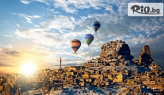 Самолетна екскурзия до Турция! 4 нощувки в Сиде/ Анталия и 3 нощувки в Кападокия със закуски и вечери + летищни такси, от Онекс Тур