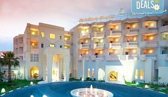 Самолетна почивка в Тунис през септември с Караджъ Турс! 7 нощувки на база All inclusive в Houda Yasmine Hammamet 4*, самолетен билет и багаж, трансфери